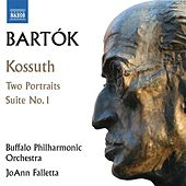 Bartók: Kossuth, 2 Portraits & Orchestral Suite No. 1 by Various Artists