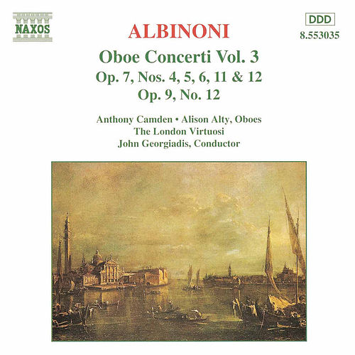 Play & Download Oboe Concerti Vol. 3 by Tomaso Giovanni Albinoni | Napster