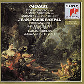 Play & Download Mozart: Divertimento, K. 334; Quintet, K. 557; Andante, K. 616; Adagio and Rondo, K. 617 by Jean-Pierre Rampal | Napster
