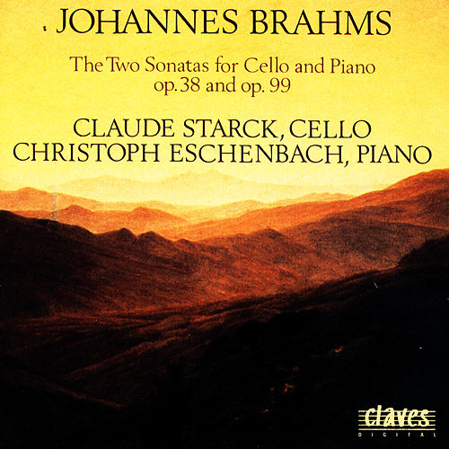 Play & Download Johannes Brahms: The Two Sonatas for Cello & Piano op. 38 & op. 99 by Christoph Eschenbach | Napster