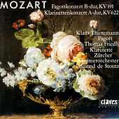 Wolfgang Amadeus Mozart: Bassoon Concerto In B-Flat Major, K 191 / Clarinet Concerto In A Major, K 622 by Various Artists
