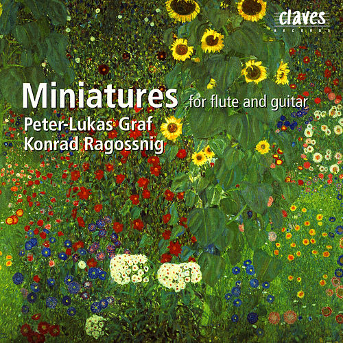 Miniatures For Flute & Guitar by Konrad Ragossnig