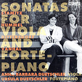 Play & Download Sonatas For Viola & Fortepiano by Anna Barbara Duetschler | Napster
