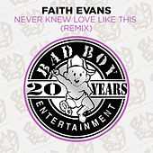 Play & Download Never Knew Love Like This (Remix) by Faith Evans | Napster