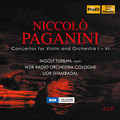 Play & Download Niccolo Paganini: Concertos for Violin & Orchestra 1-6 by Ingolf Turban | Napster