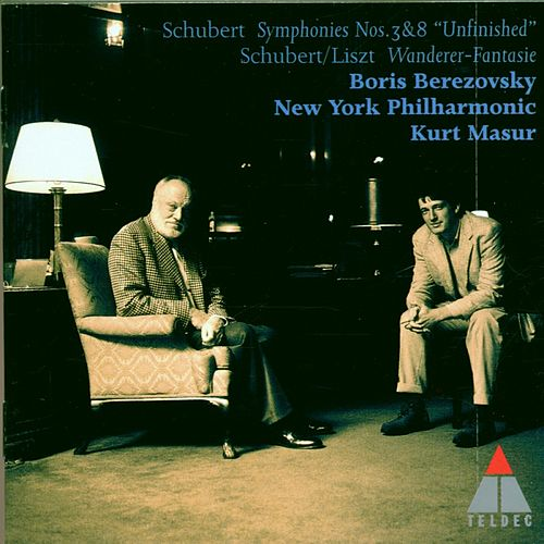Schubert : Symphonies Nos 3, 8 & Wanderer Fantasy by Various Artists