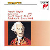 Play & Download Haydn: Symphonies Hob. I: 45, 46 & 47 by Bruno Weil; Tafelmusik | Napster