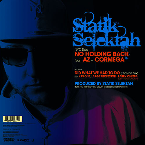 Play & Download No Holding Back by Statik Selektah | Napster