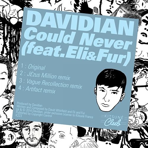 Play & Download Kitsuné: Could Never (feat. Eli & Fur) by Davidian | Napster