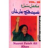 Play & Download Mehfil-E-Sama  Vol. 26 by Nusrat Fateh Ali Khan | Napster