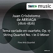 Play & Download Arriaga:  Tema variado en cuarteto - String Quartet No. 1 by Fine Arts Quartet | Napster