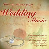 How to Choose Your Wedding Music by Martin Souter