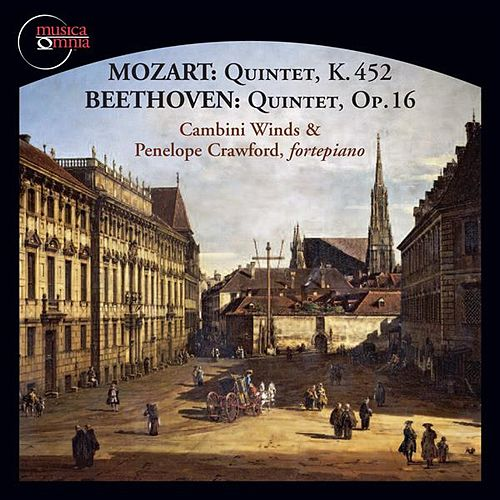 Mozart & Beethoven: Piano Quintets von Penelope Crawford