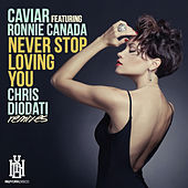 Play & Download Never Stop Loving You (Chris Diodati Remixes) by Caviar | Napster