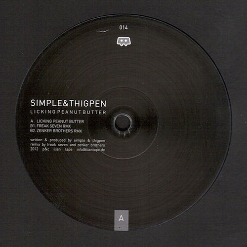 Licking Peanut Butter (Remixes) by Simple
