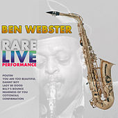 Rare Live Performance von Ben Webster
