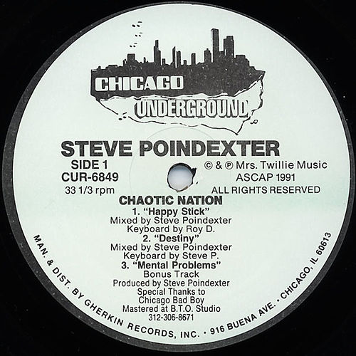 Play & Download Chaotic Nation by Steve Poindexter | Napster