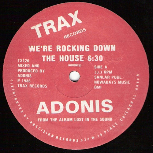 Play & Download We're Rockin' Down the House (Basement Jaxx Remixes) by Adonis | Napster