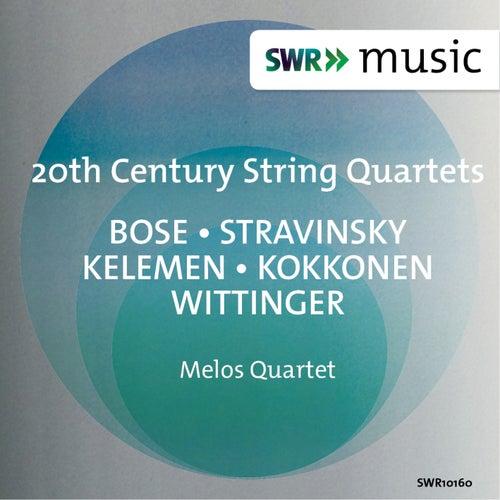 20th Century String Quartets by Melos Quartet