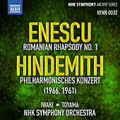 Enescu: Romanian Rhapsody No. 1 - Hindemith: Philharmonisches Konzert by NHK Symphony Orchestra