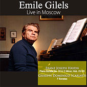 Play & Download Live in Moscow by Emile Gilels | Napster