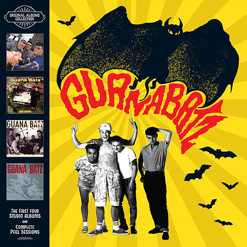 Original Albums and Peel Sessions Collection by The Guana Batz