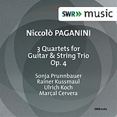 Play & Download Paganini: 3 Quartets for Guitar & String Trio, Op. 4 by Sonja Prunnbauer | Napster