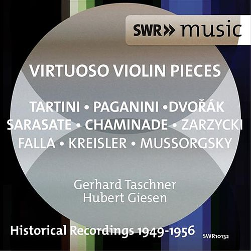 Virtuoso Violin Pieces by Gerhard Taschner