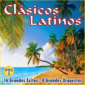Play & Download Clásicos Latinos Vol. 2 16 Grandes Exitos 8 Grandes Orquestas by Various Artists | Napster