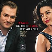 Play & Download Franck, Grieg, Dvorak: Sonatas for violin & piano by Renaud Capuçon | Napster