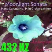 Beethoven: Piano Sonata No. 14, Op. 27 No. 2, Extract (Binaural Piano Version) by 432 Hz