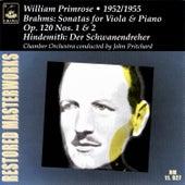 Brahms: Viola Sonatas, Op. 120 - Hindemith: Der Schwanendreher by William Primrose