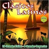Clasicos Latinos Vol. 1 16 Grandes Exitos 8 Grandes Orquestas by Various Artists
