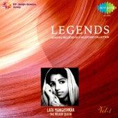Legends: Lata Mangeshkar - The Melody Queen, Vol. 1 by Lata Mangeshkar