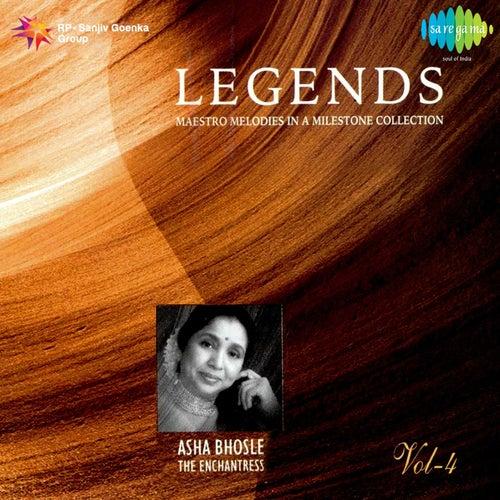 Legends: Asha Bhosle - The Enchantress, Vol. 4 by Asha Bhosle