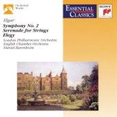 Elgar: Symphony No.2; Serenade For Strings; Elegy by Daniel Barenboim