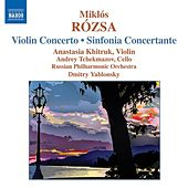 Play & Download ROZSA: Violin Concerto, Op. 24, Sinfonia Concertante for Violin and Cello, Op.29 by Anastasia Khitruk | Napster