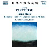 Toru Takemistu Complete Piano Works by Kotaro Fukuma