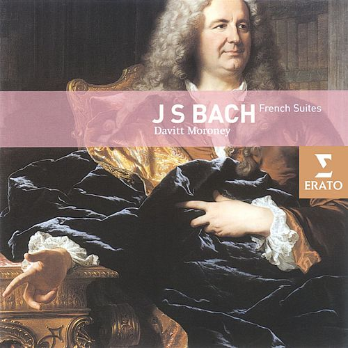Bach - French Suites by Davitt Moroney