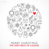Play & Download Merry Christmas - The Very Best of Lounge by Various Artists | Napster