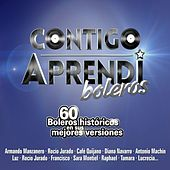 Play & Download Contigo aprendí - Boleros by Various Artists | Napster
