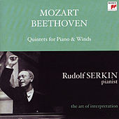 Mozart: Quintet in E-flat Major for Piano & Winds, K. 452; Beethoven: Quintet in E-flat Major for Piano & Winds, Op. 16 [Rudolf Serkin - The Art of Interpretrat by Rudolf Serkin
