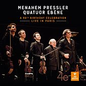 Play & Download Menahem Pressler - A 90th Birthday Celebration - Live in Paris by Quatuor Ébène | Napster