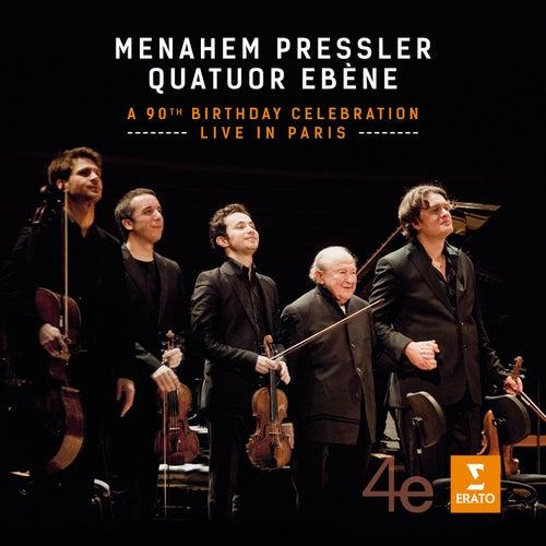Menahem Pressler - A 90th Birthday Celebration - Live in Paris by Quatuor Ébène