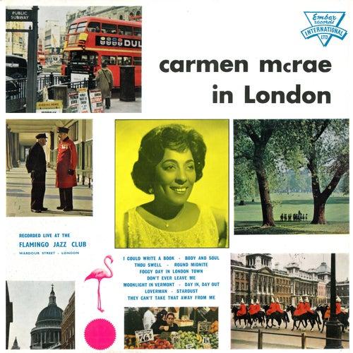Play & Download Carmen McRae in London by Carmen McRae | Napster