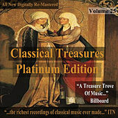Classical Treasures: Platinum Edition, Vol. 25 (Remastered) by Various Artists