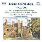 Choral Music by Sir William Walton