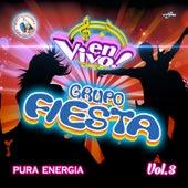 Pura Energía Vol. 3: Música de Guatemala para los Latinos (En Vivo) by Grupo Fiesta