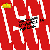 Shostakovich: String Quartets Nos. 3, 7 & 8 by Hagen Quartett