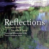 Reflection - Romantic Duets For Cello And Harp by Coenraad Bloemendal